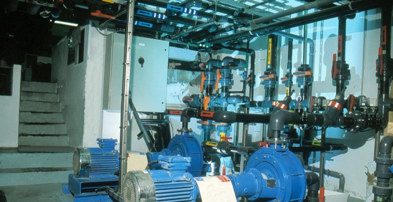 Filtration traitement d'eau aquarium